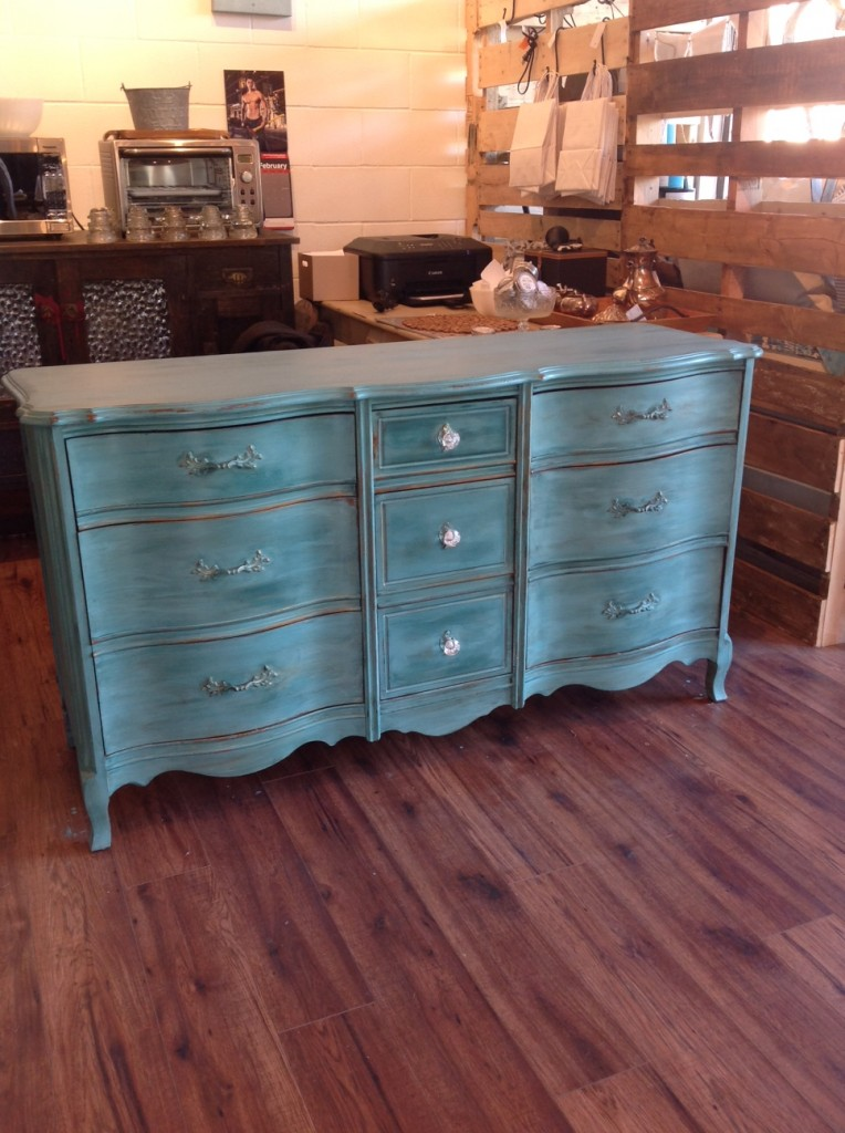 Green Dresser, Finished